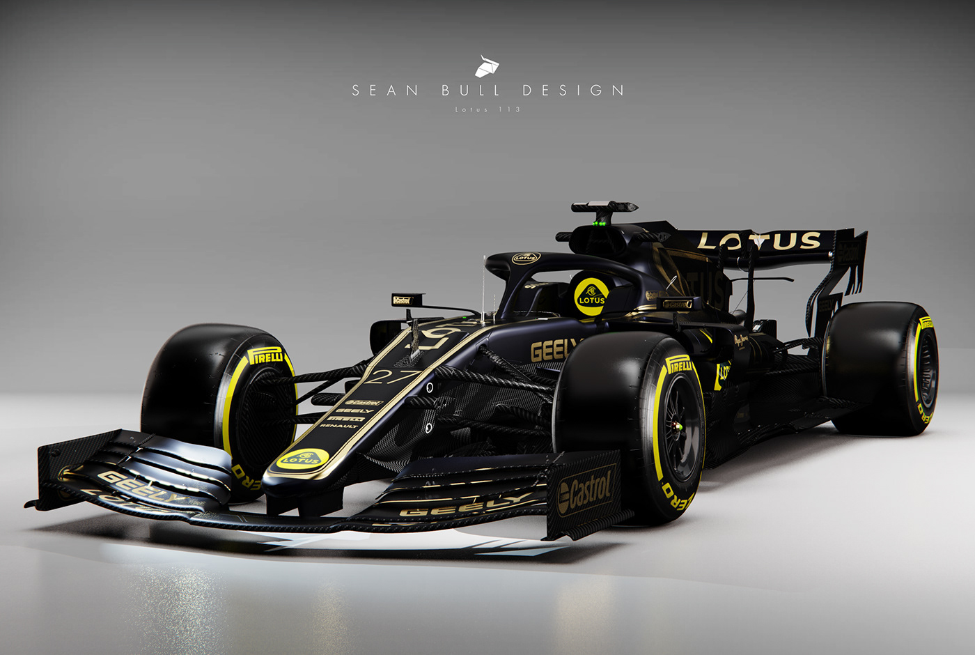 f1 2021 livery concepts: cgi visuals on behance