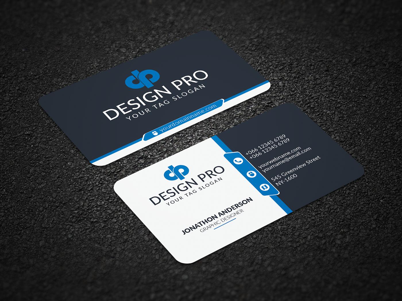 business card BUNİESS card visiting card modern business Corporate Business Card corporate Business card design