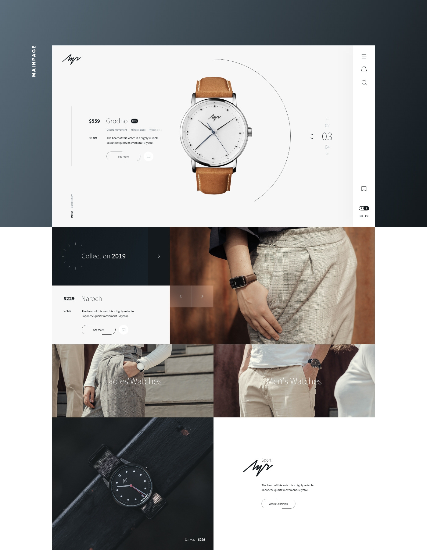 watch,UI,minimal,clock,store,Ecommerce,clean,motion,ux,shop