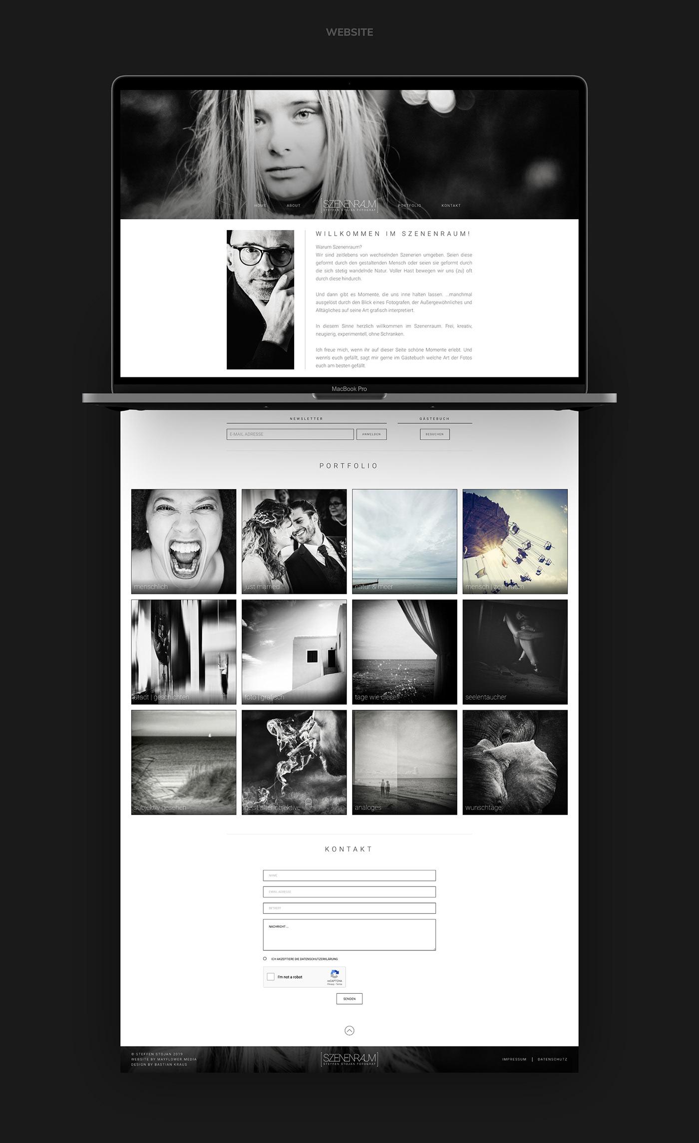 SZENENRAUM // Website