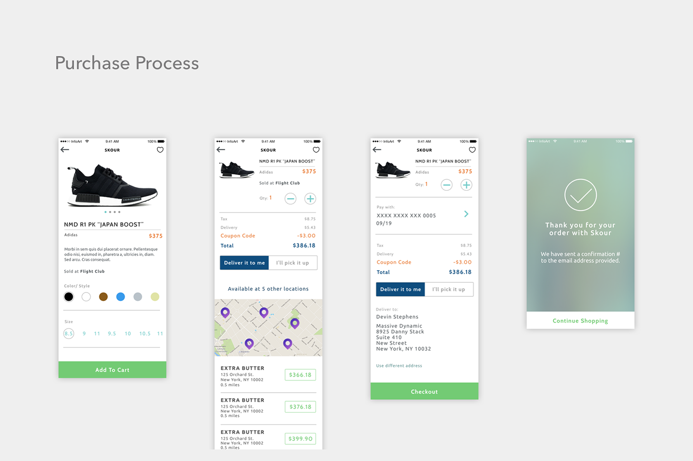 mobile app Retail Travel ios