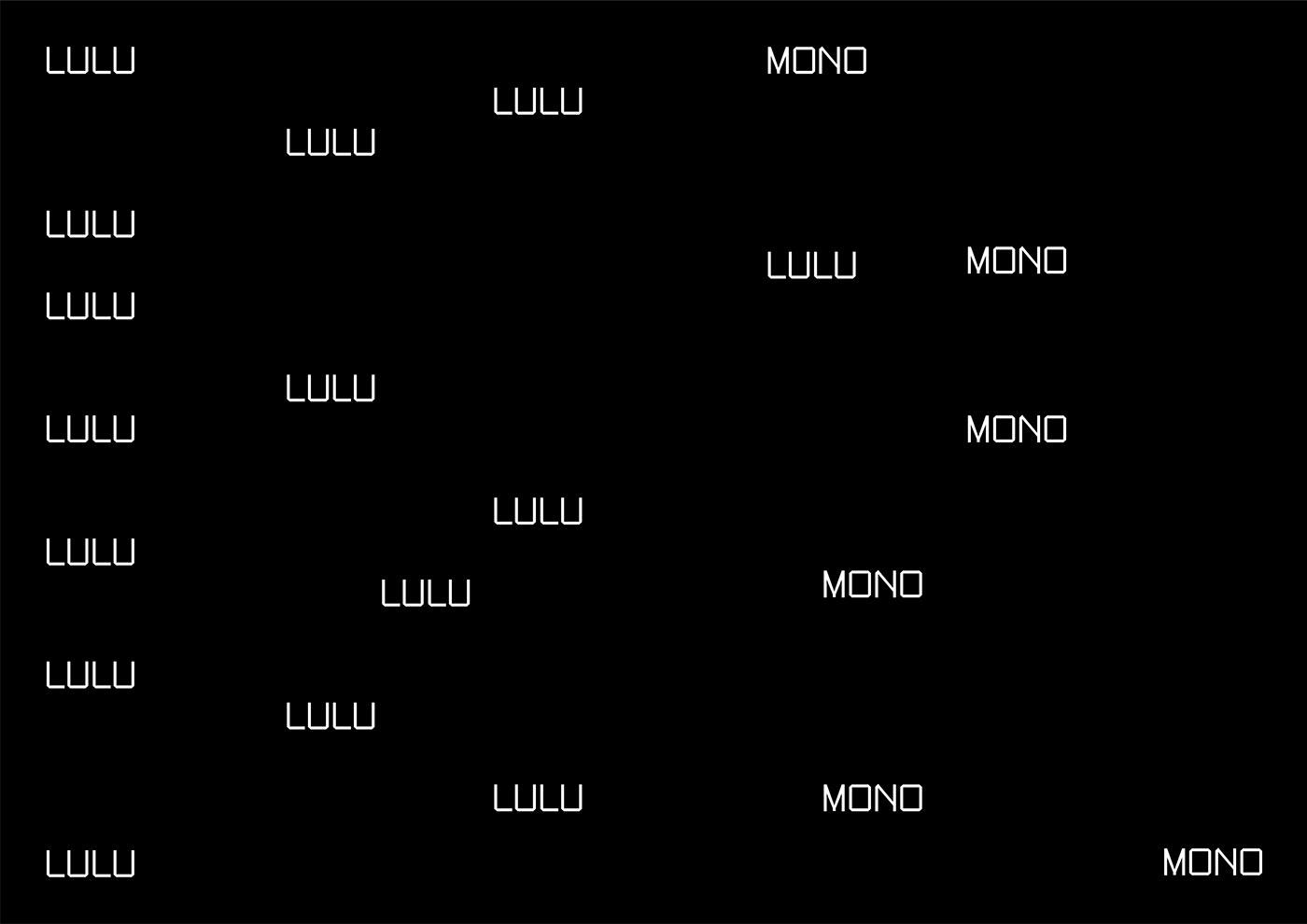 Typeface monospace free download contemporary font type monospaced
