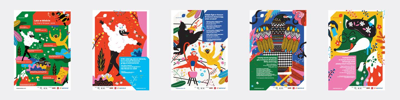 lato,summer,stary,browar,design,UVMW,ILLUSTRATION ,campaign,Advertising