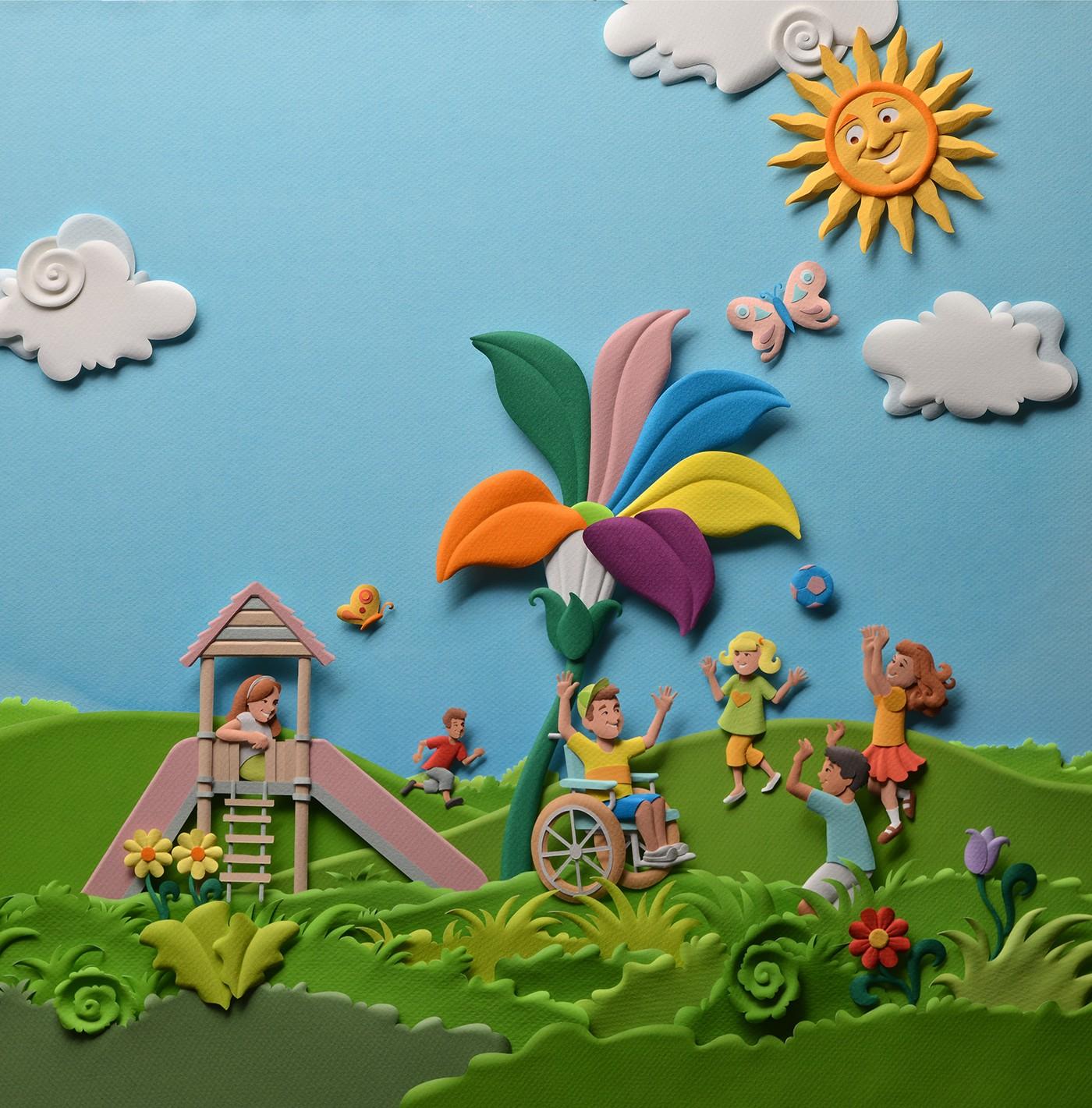 高品質的27個立體紙雕作品欣賞