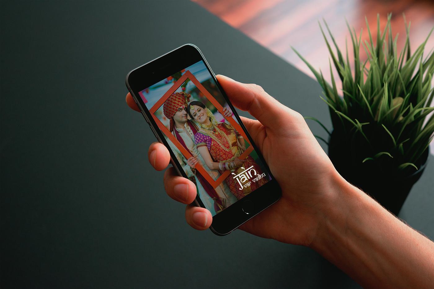 Promotional Matrimonial App Matrimonial App Promotional Creatives and Designs creative designs app matchmaking app