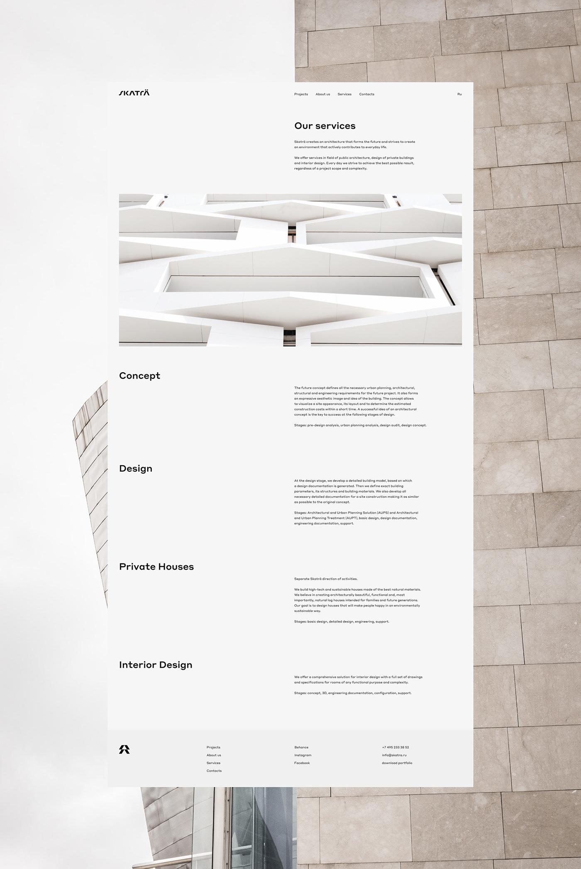 architecture,architecture bureau,Architecture website,Clean Design,Minimalism,minimalist interface,minimalist web design,minimalist website,white design,white space