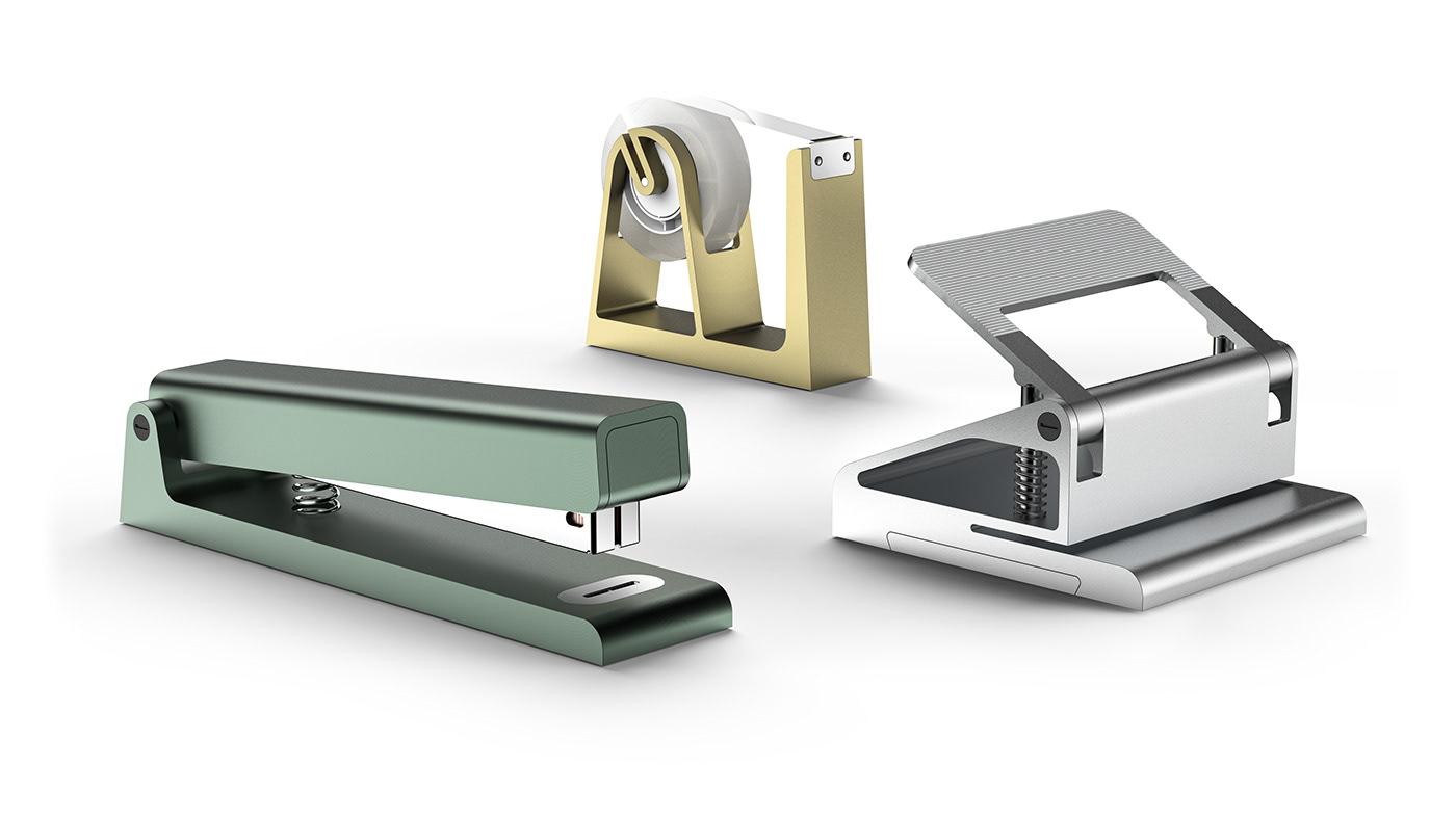 design industrialdesign minimal productdesign puncher