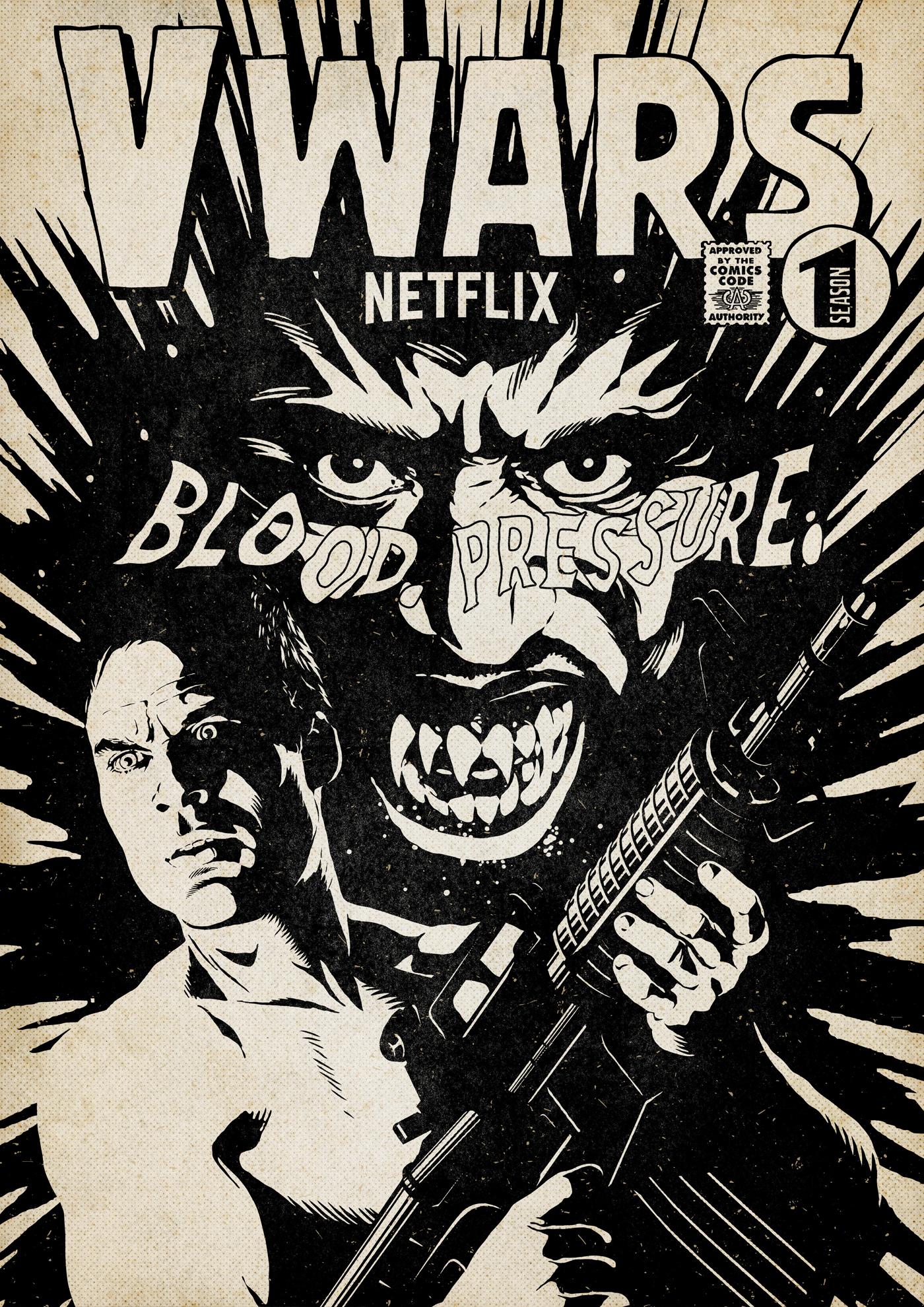 Netflix v wars vampire vintage comics
