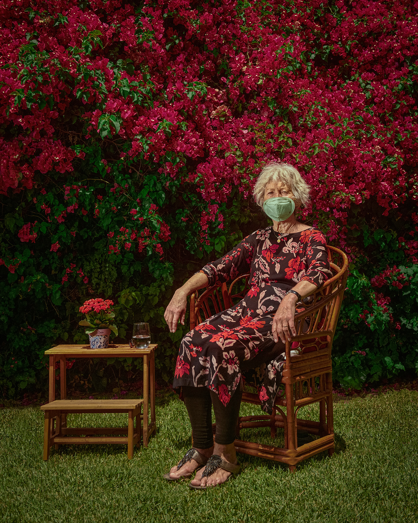 Coronavirus COVid COVID19 creative lighting editorial family pandemic portrait series seniors stylistic retouching