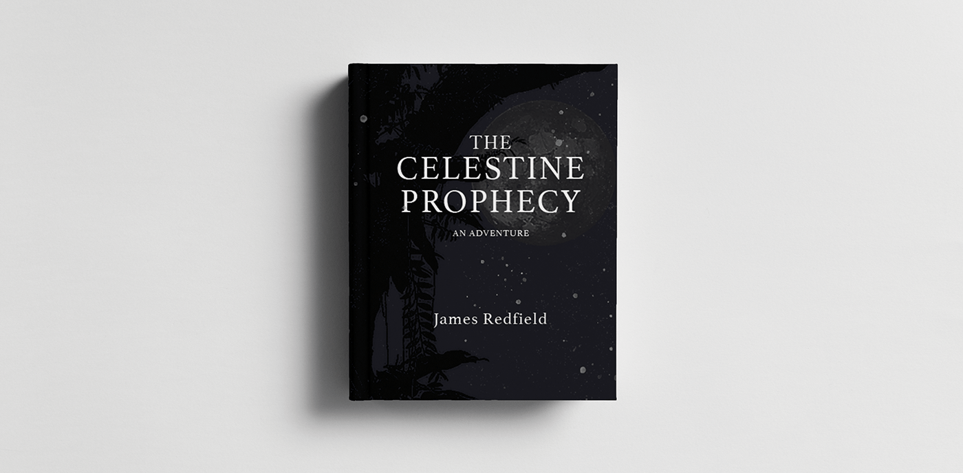 book book cover book design celestial hard cover james redfield moon photoshop stars celestine prophecy