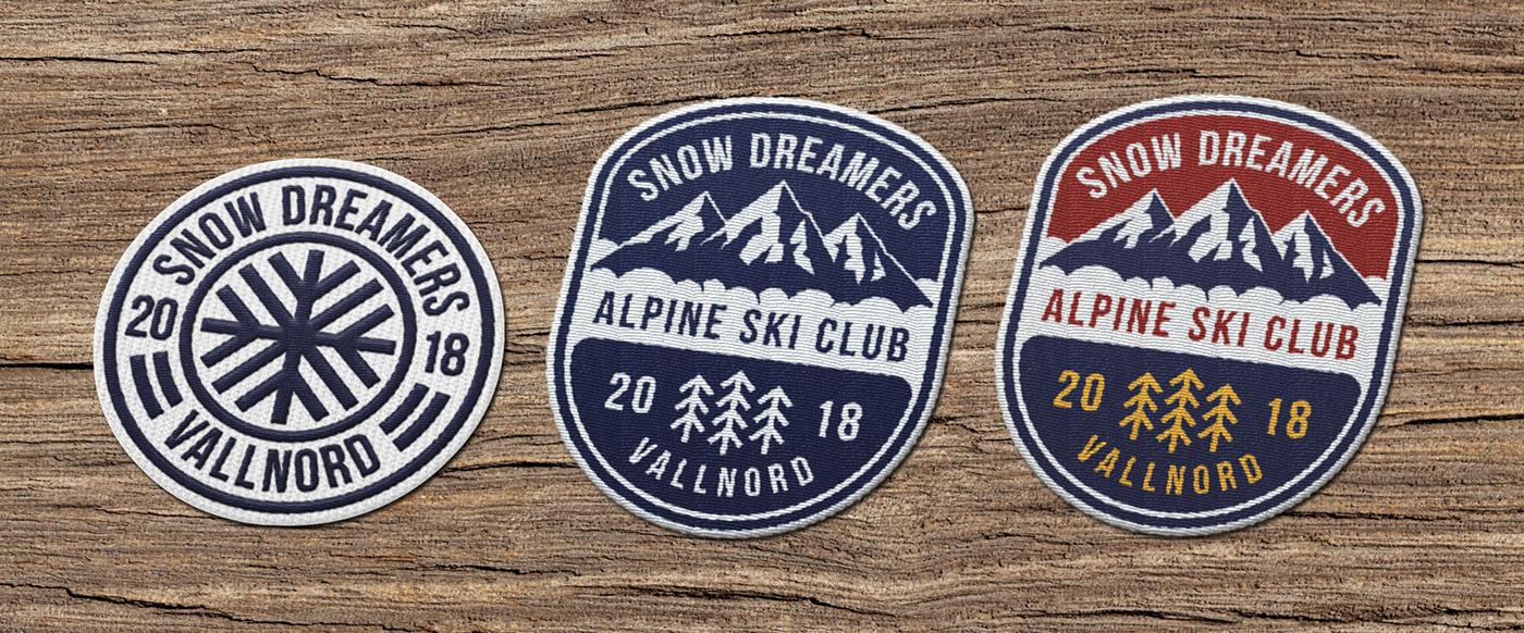 Badges logo Ski