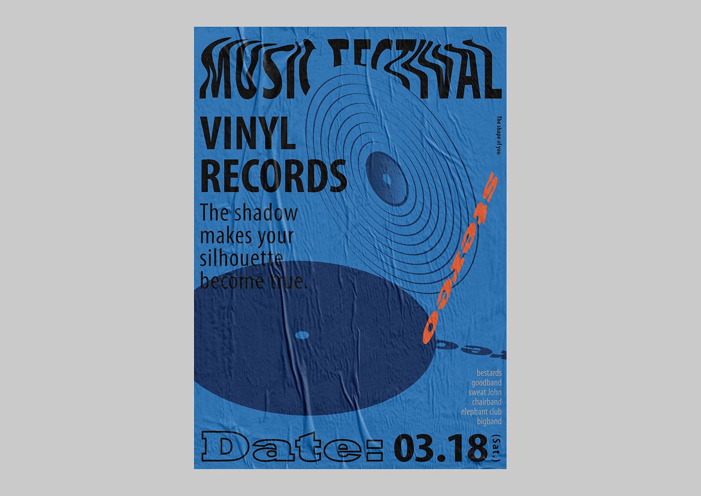細緻的23款音樂海報設計欣賞