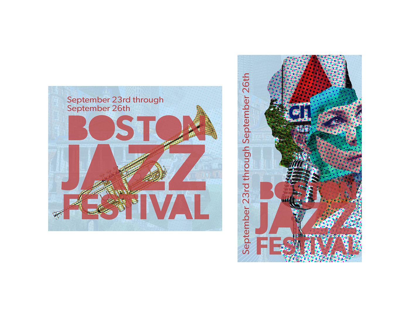 boston Boston Jazz Festival jazz Romare Bearden collage Massachusetts marketing   music