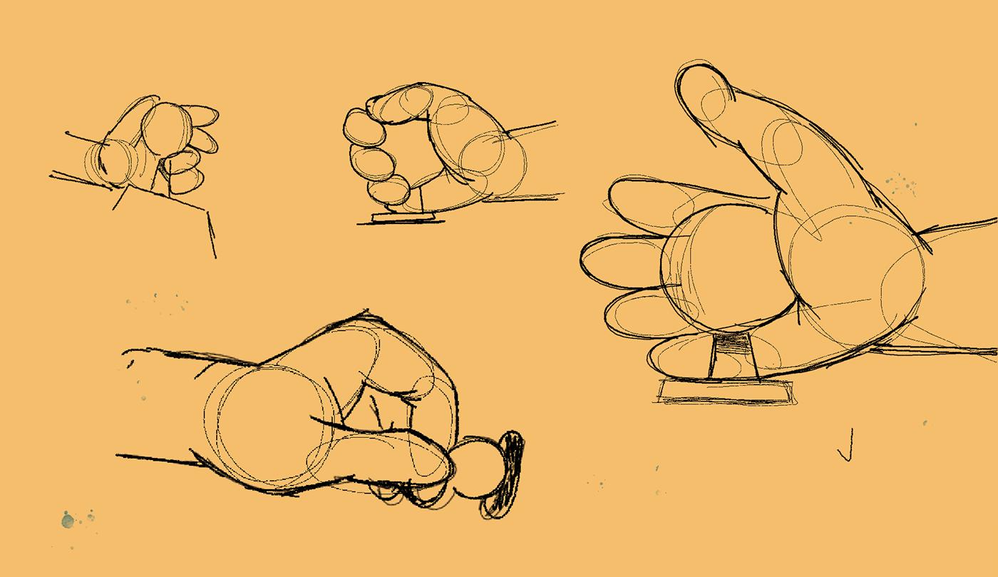 2D Animation animation  Character design  claw machine flat design geometric design minimal design plushies teddy bear vector