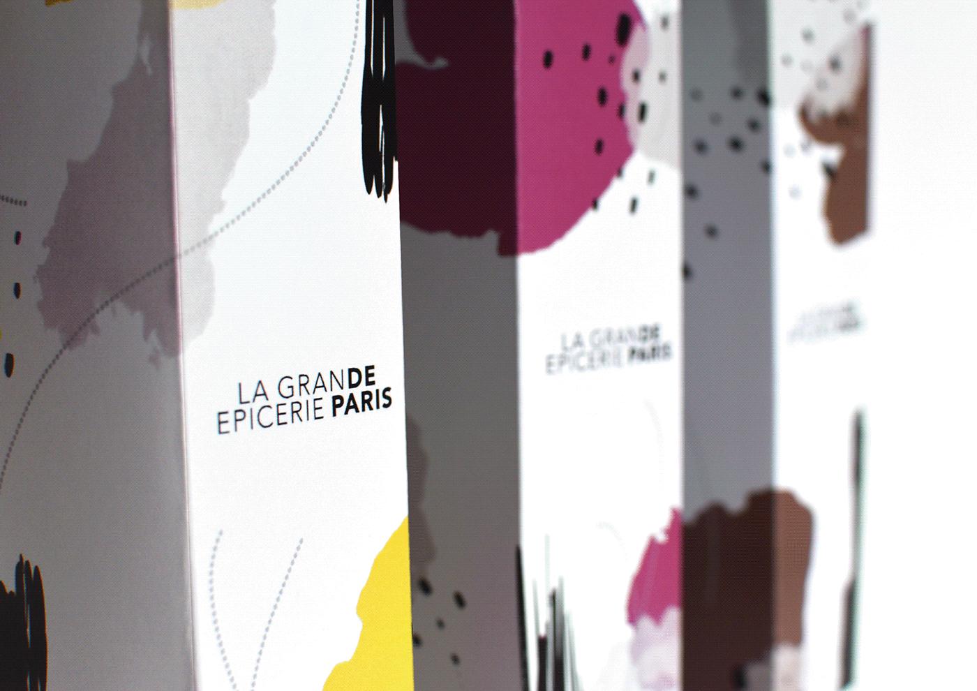 art direction ,direction artistique,Food ,graphic design ,la grande epicerie,nourriture,Packaging,Paris
