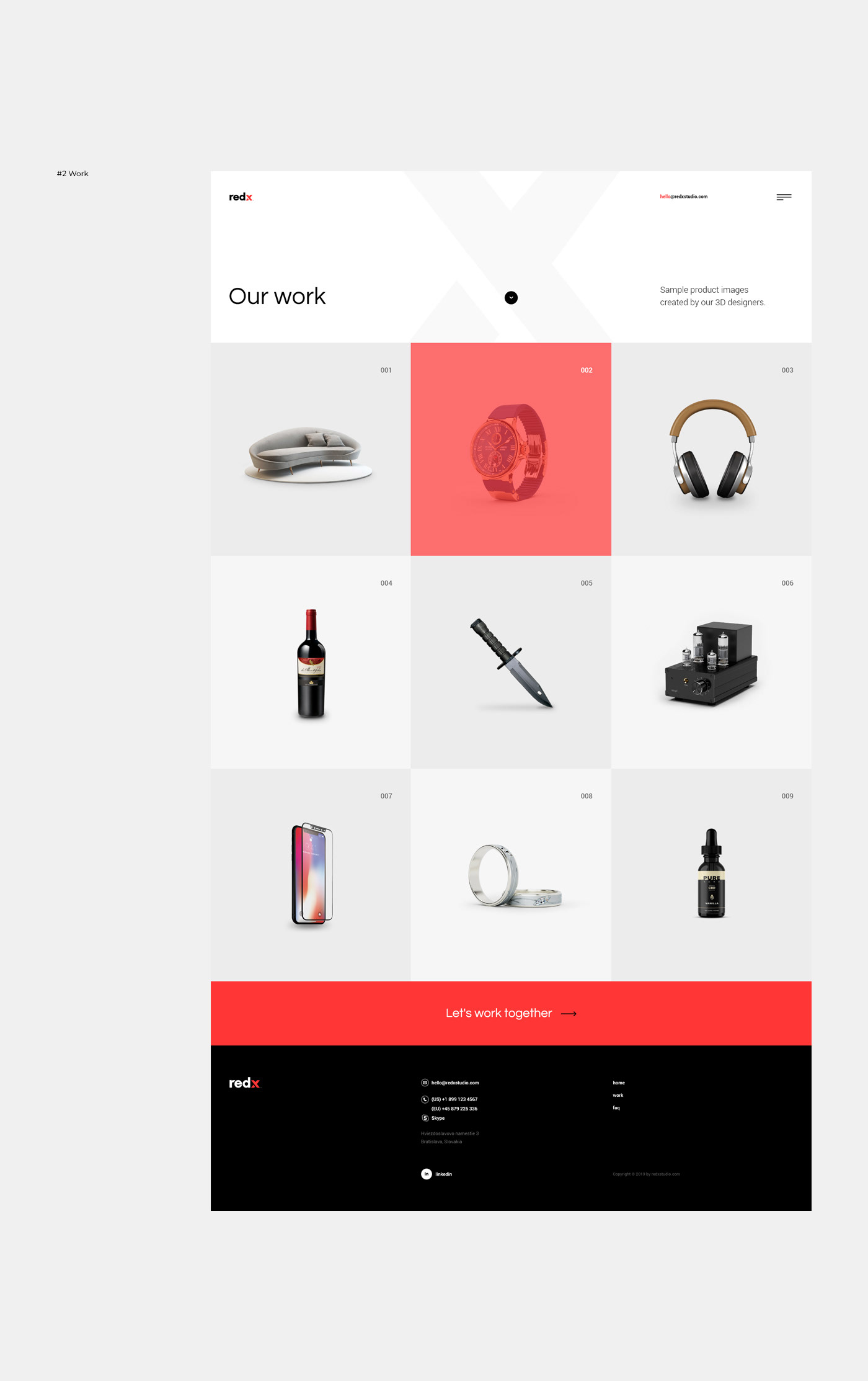 3D,agency,branding ,onepage,product,studio,typography  ,Web,Website