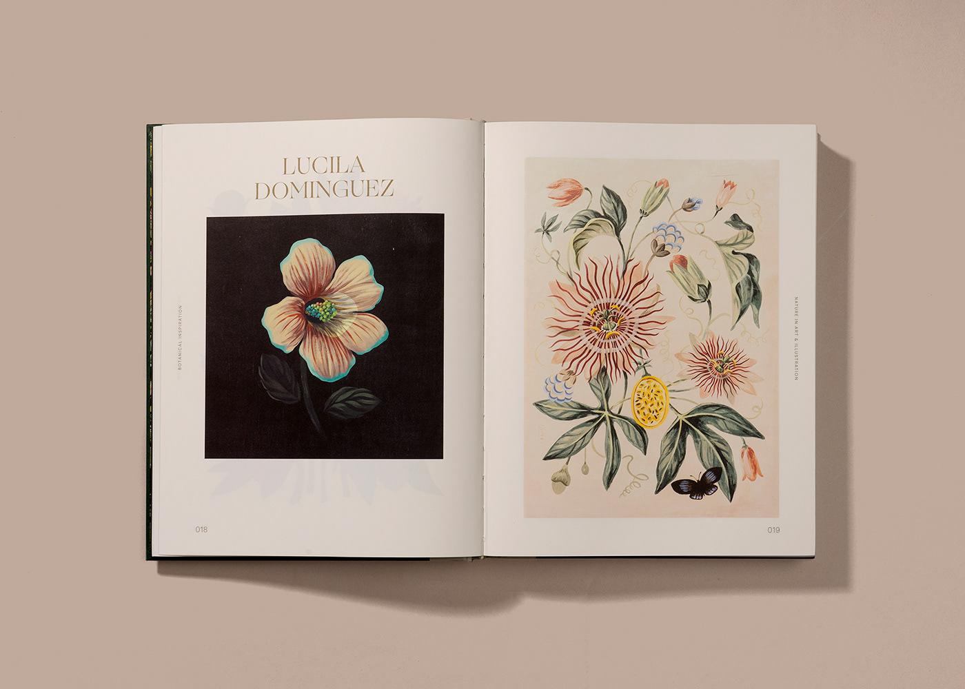 botanical ILLUSTRATION  inspiration Nature planet art Flora book design books plants