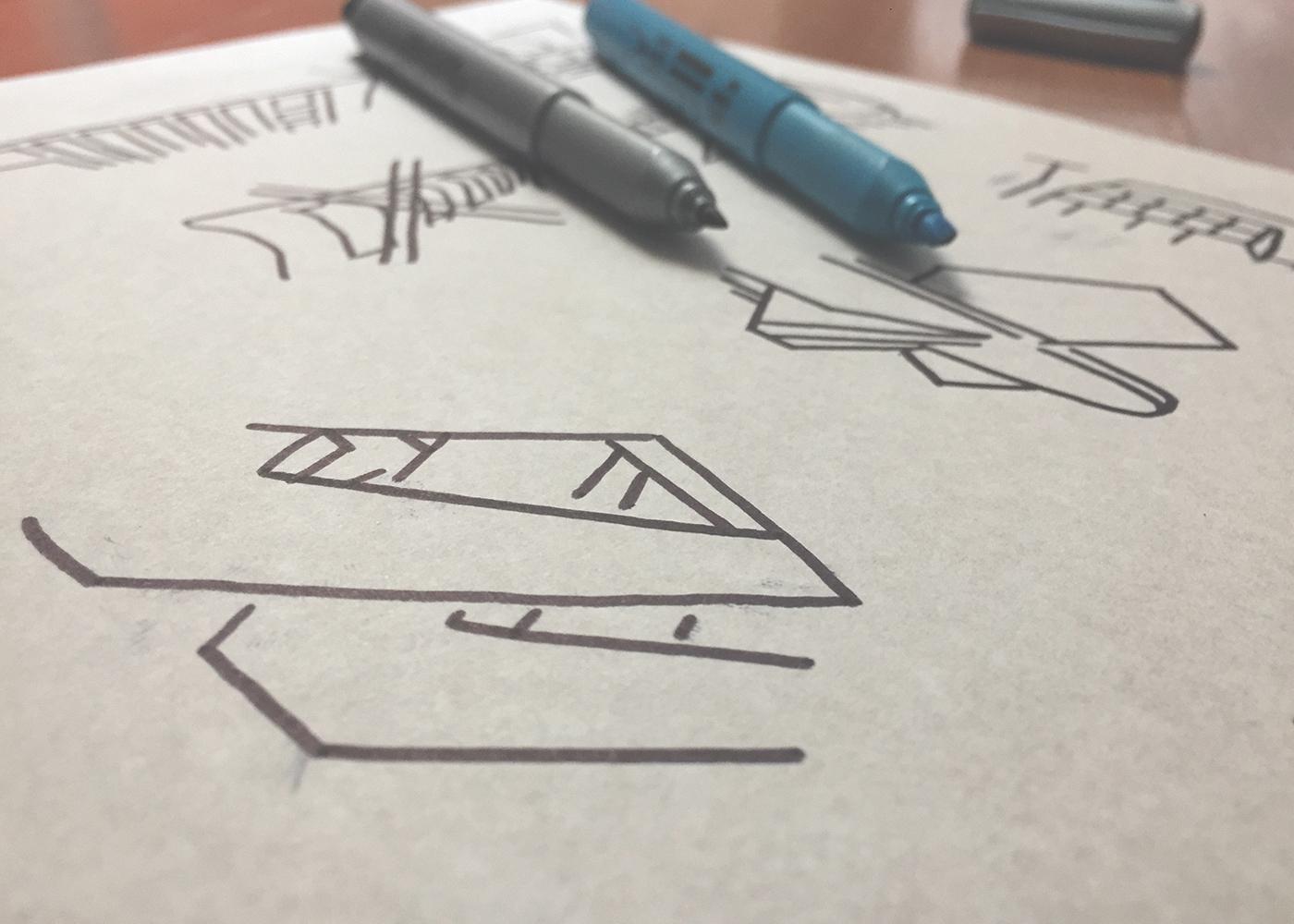 graphic design  surface design ILLUSTRATION  architecture tokstok Estampa modernismo