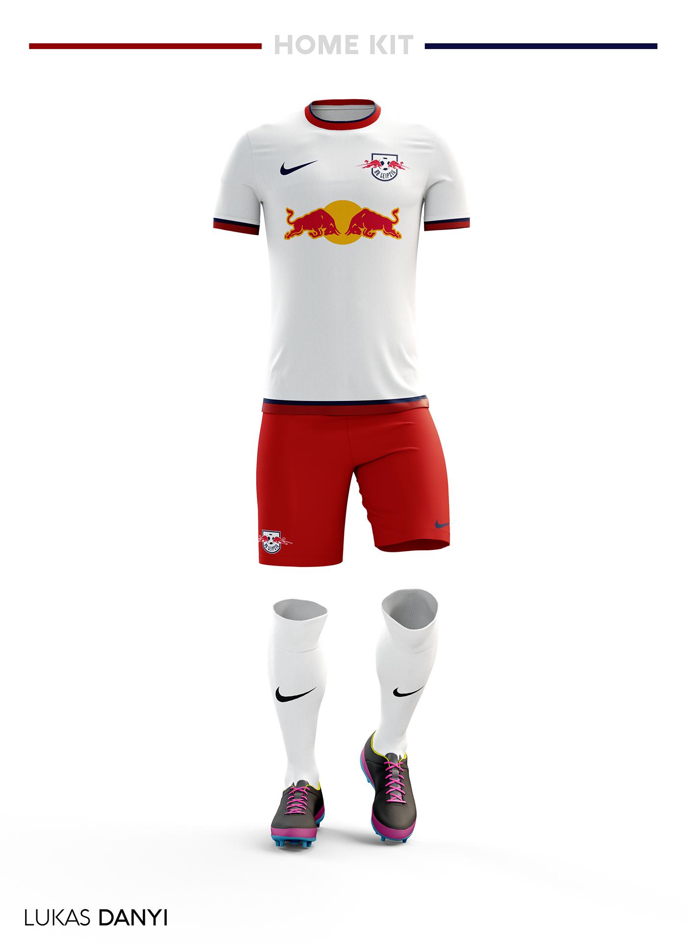 RB Leipzig Football Kit 17 18. on Behance 0f5cacab5