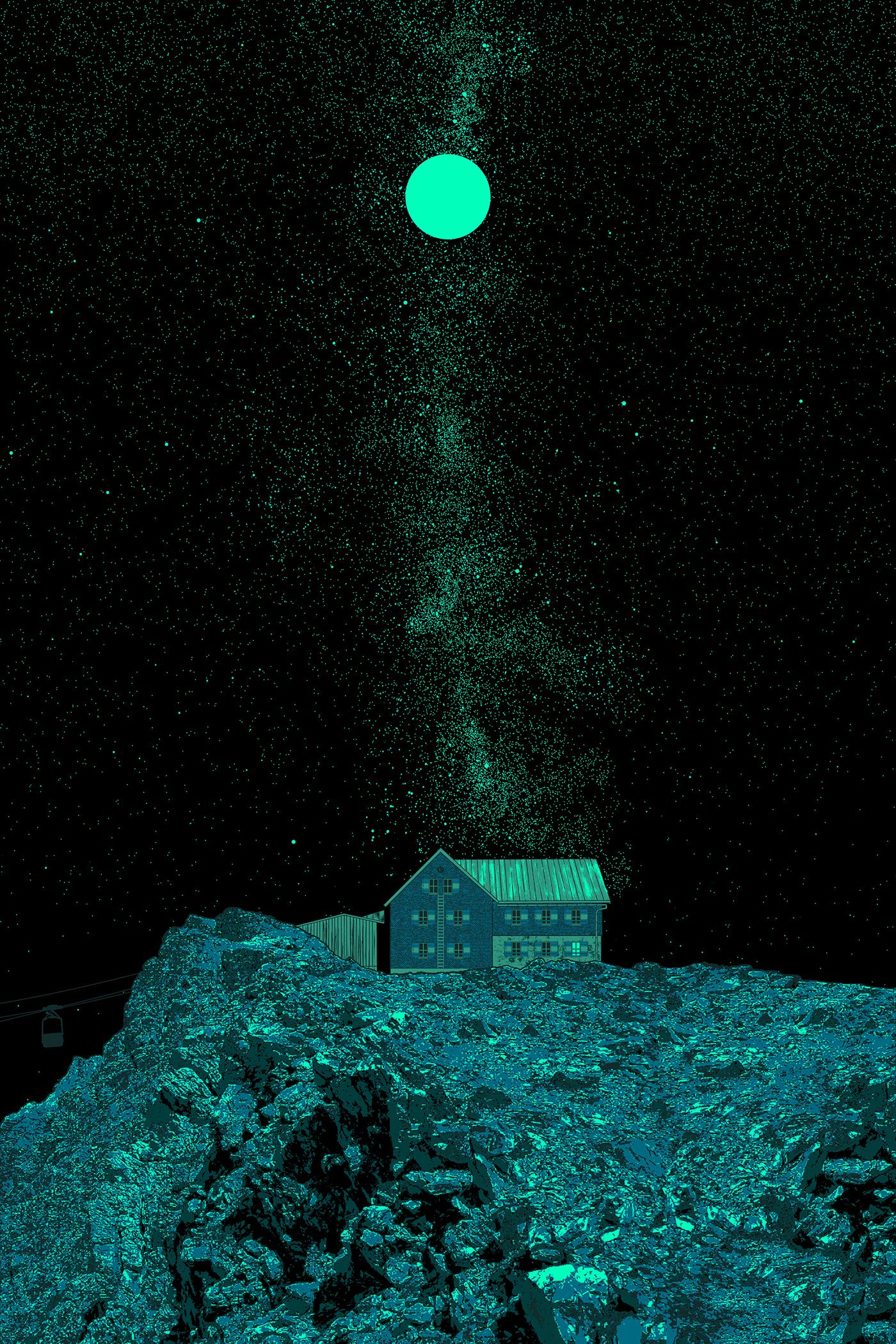 Image may contain: night