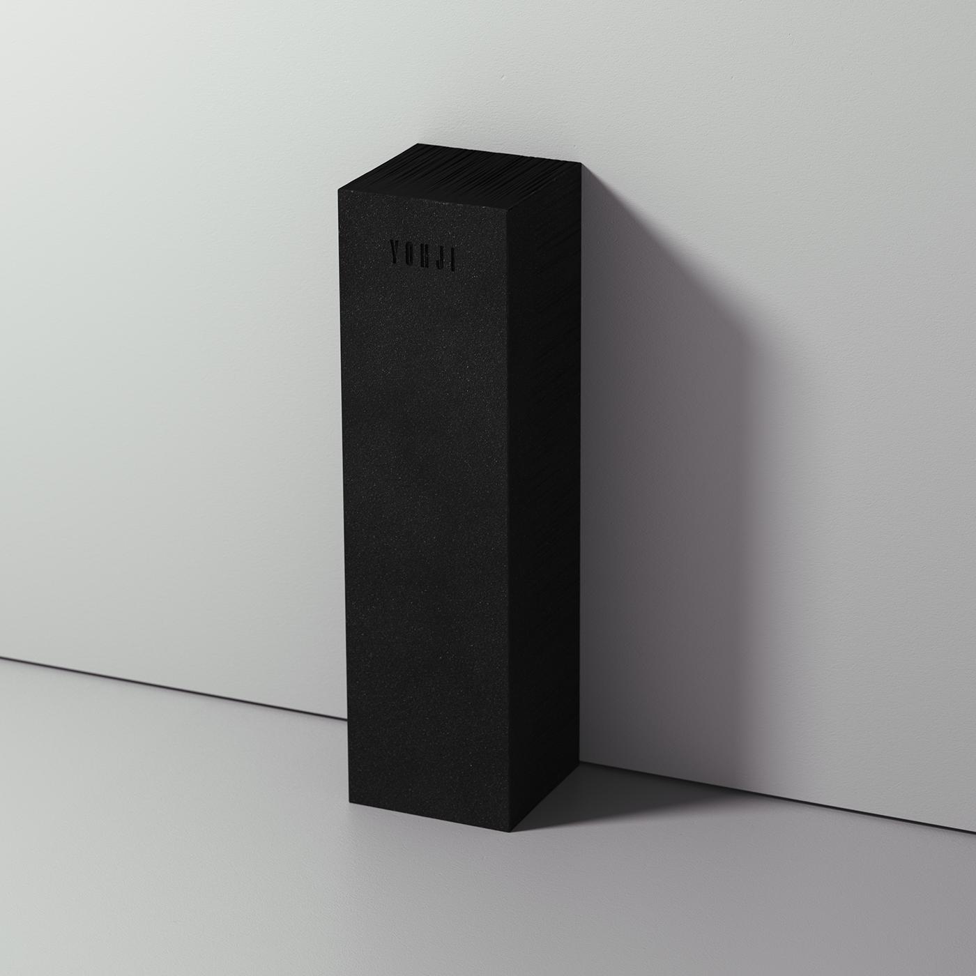 perfume,yohji yamamoto,Packaging,message,DNA,deconstruction,darkness,Paradox,avant-garde,niche