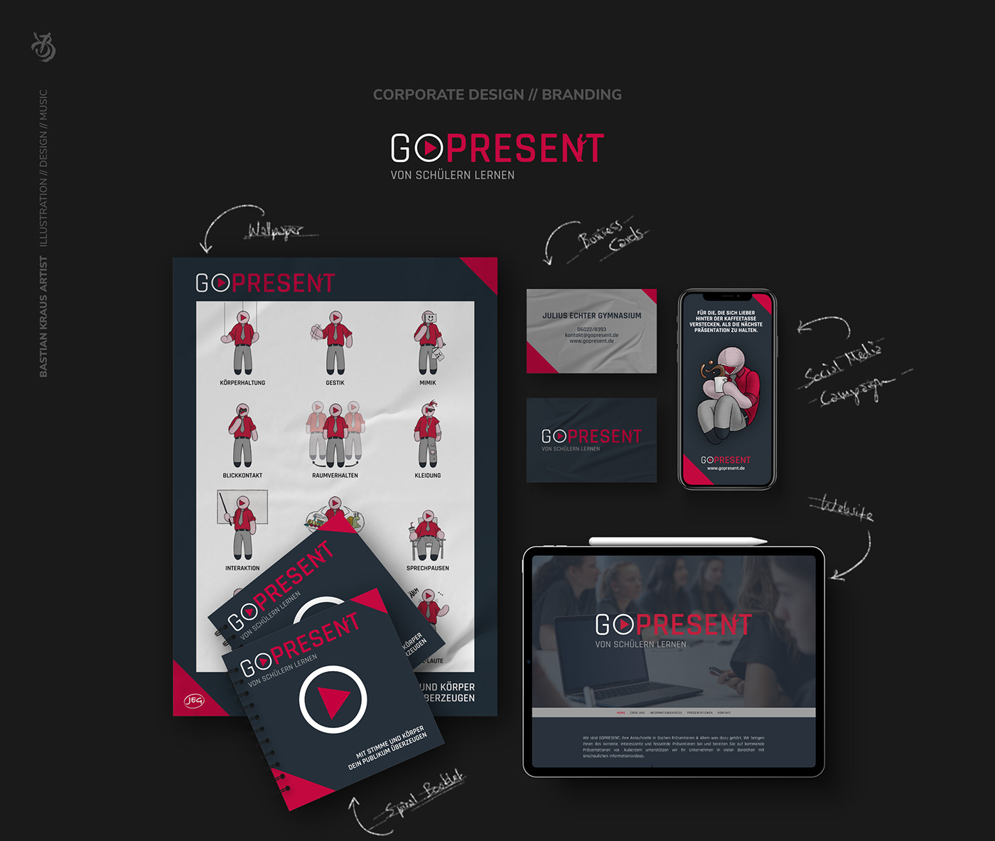 GO PRESENT // Overview