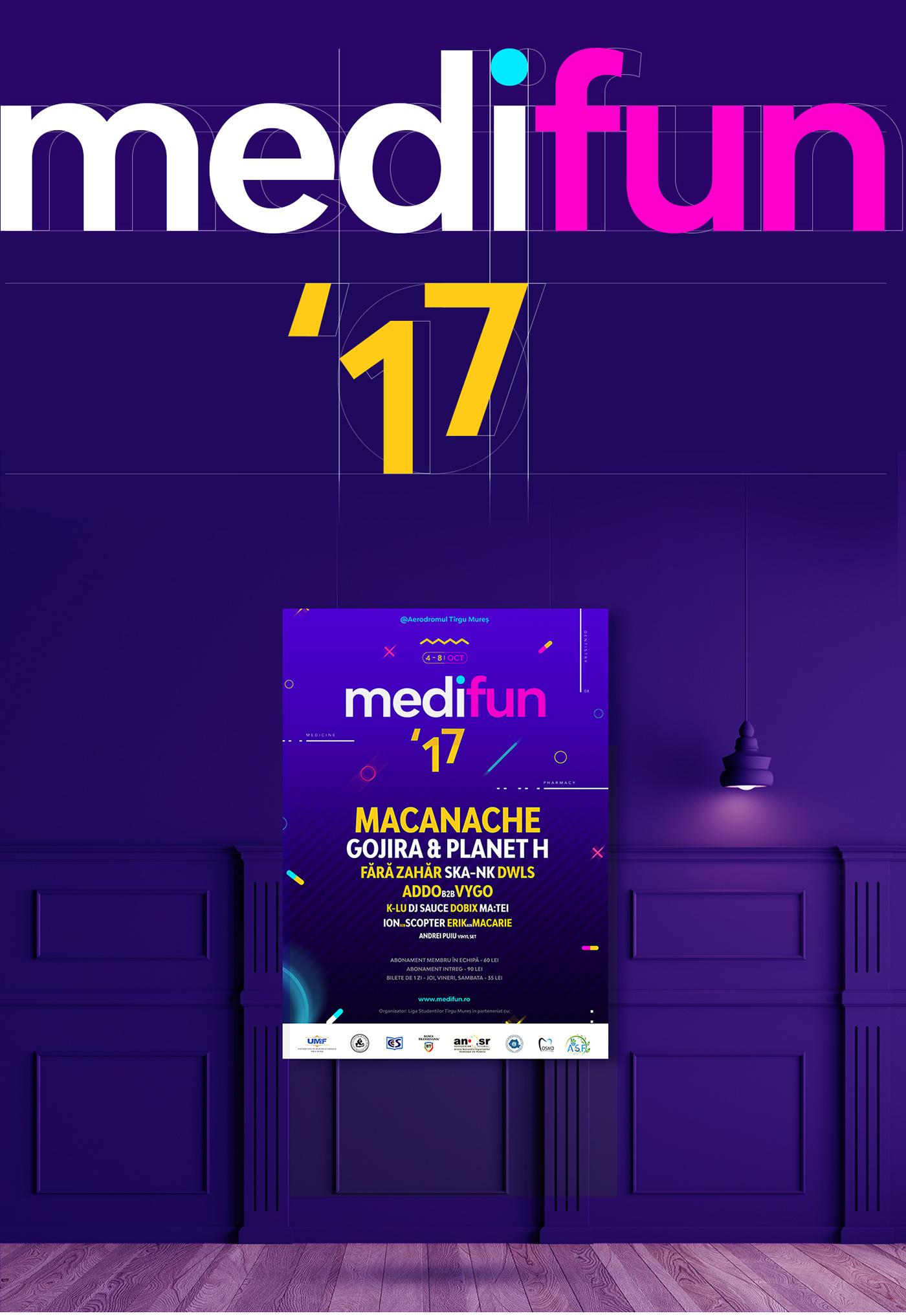 Music Festival brand identity Student Festival poster Poster Design festival poster