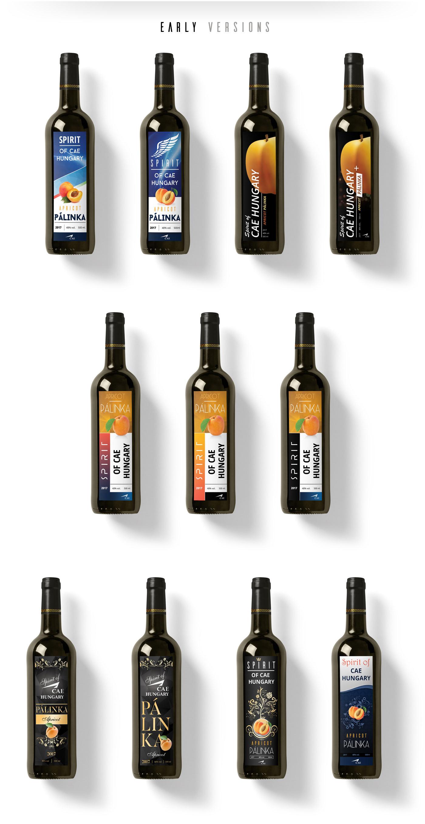 bottle label Brandy Label label design pálinka