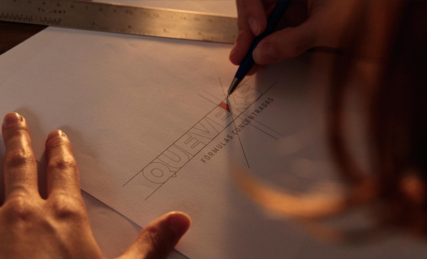 branding  construction design emporia branding logo packing queveks Engineering