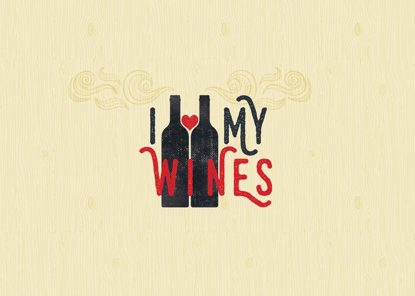 logo wine bottles hear Woo
