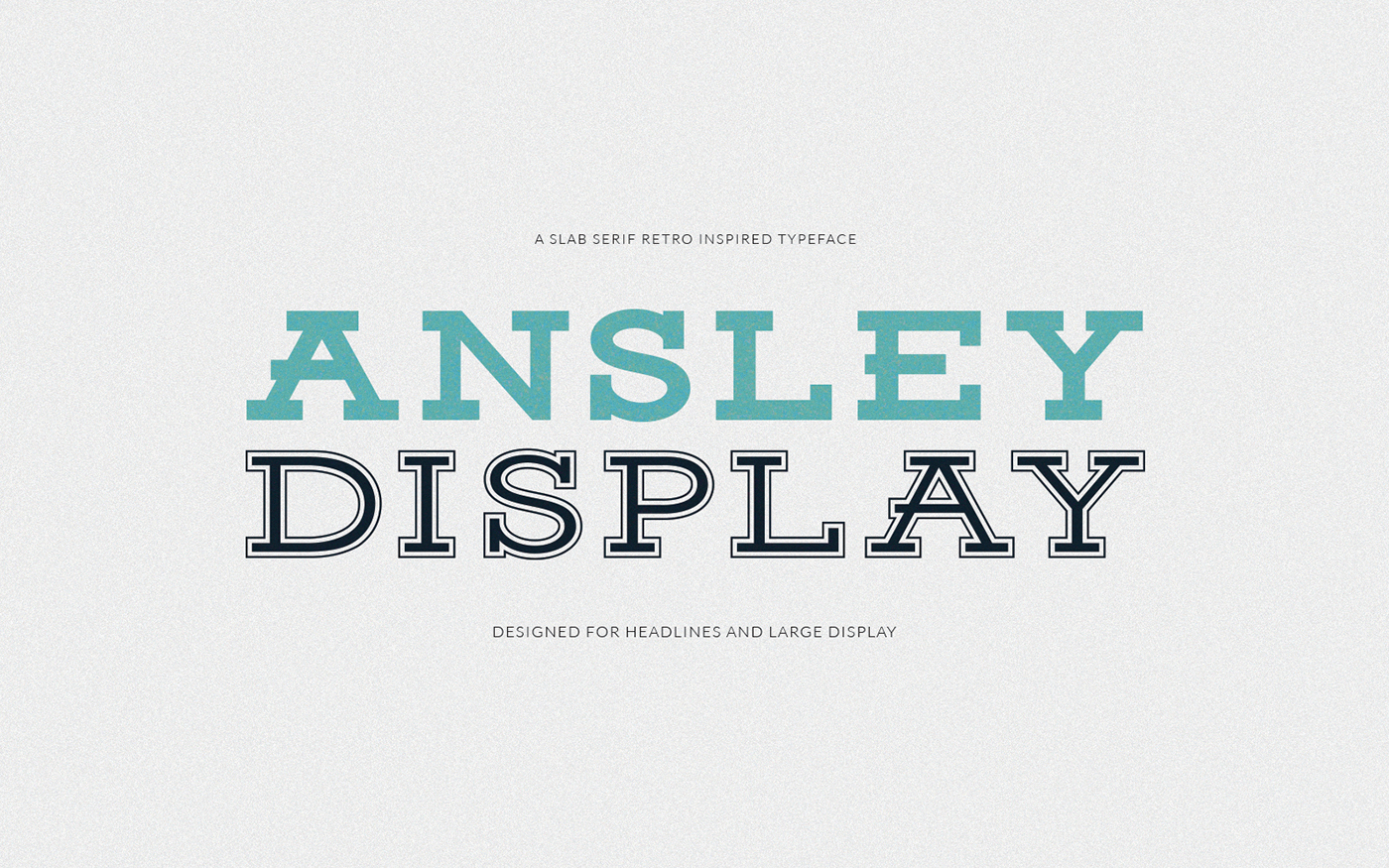 Ansley Display Font Download