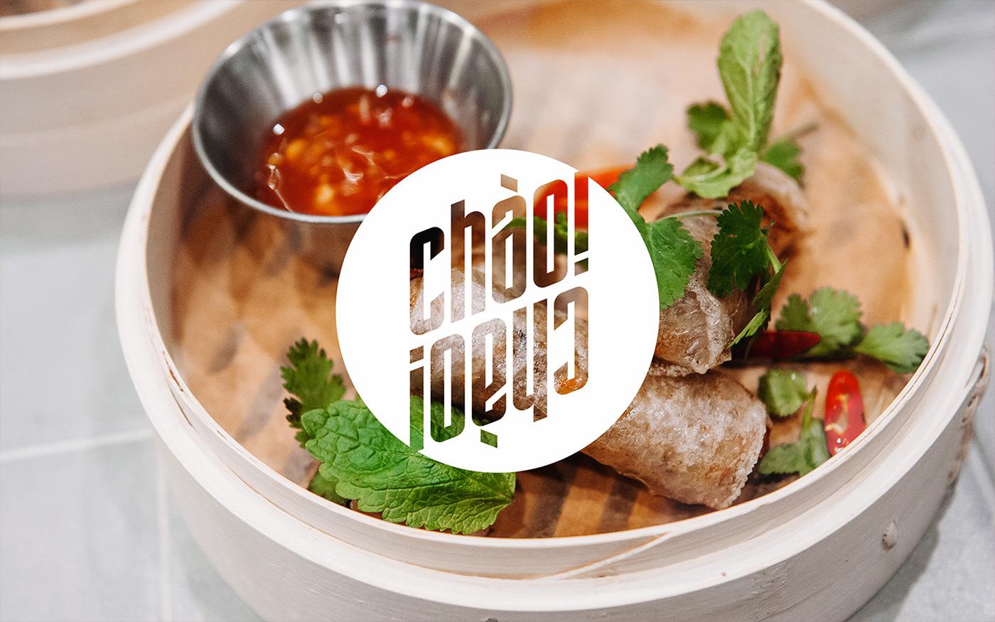 Restaurant Branding cafe branding restaurant logo cafe logo Asian Food vietnamese food the nineteen branding  visual identity