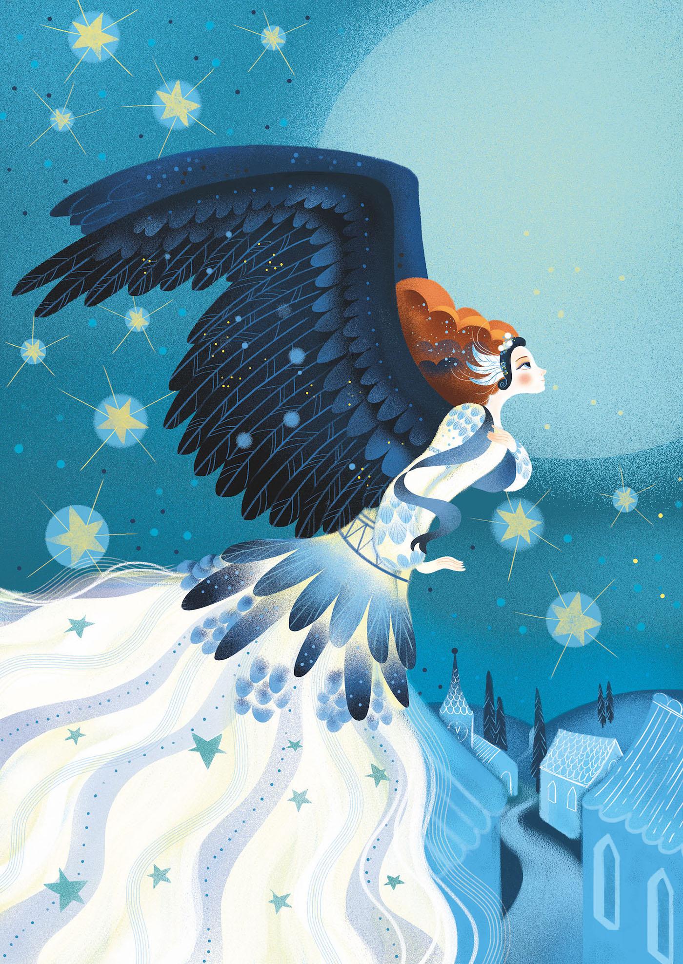 Andersen Fairytales For Illusalon On Behance