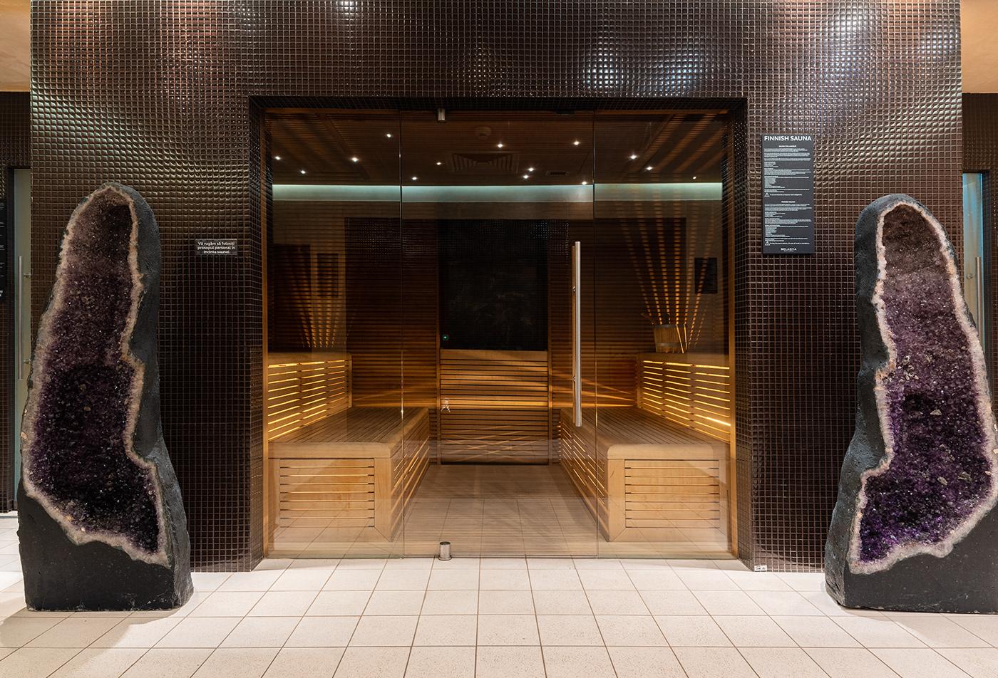 Image may contain: door, indoor and floor