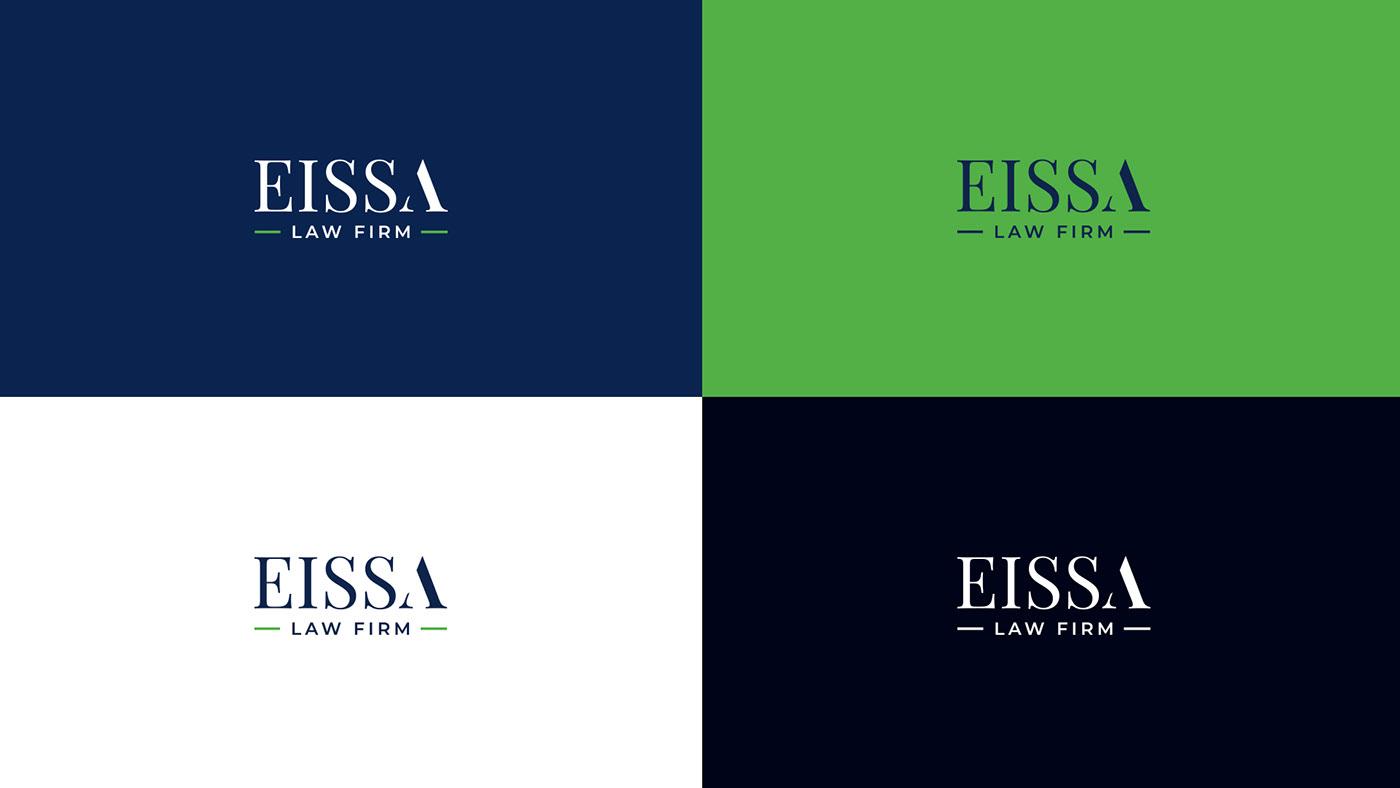 brand identity branding  judicial law law firm