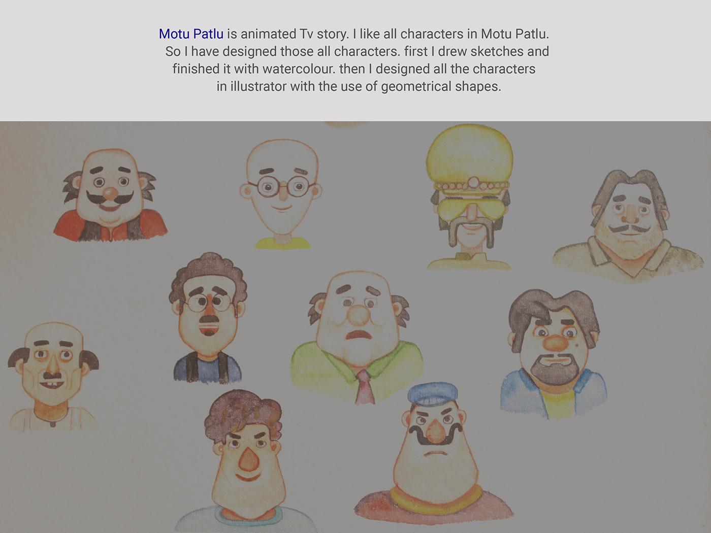 Fav Characters On Behance