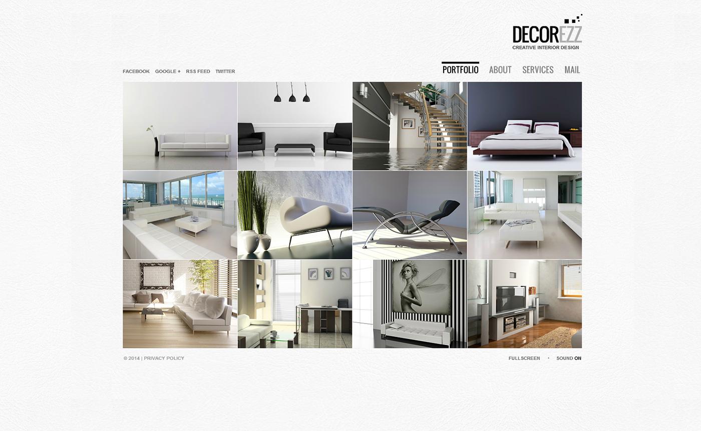 Interior Design Templates On Behance