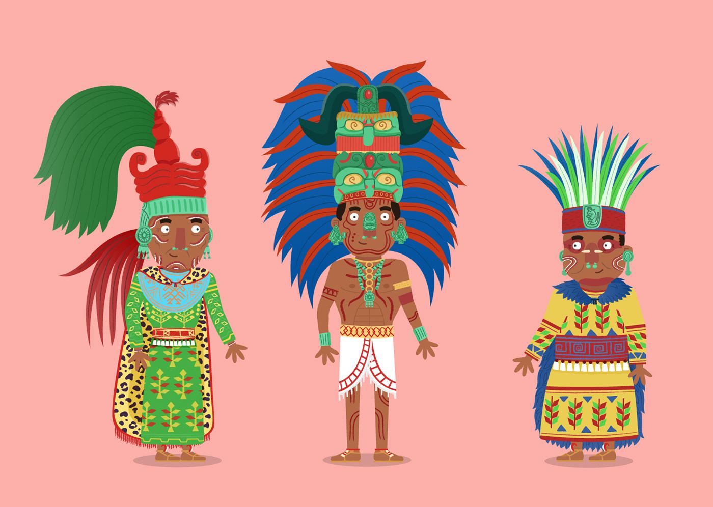 Maya history educational animation  children KS2 mexico bitesize BBC school