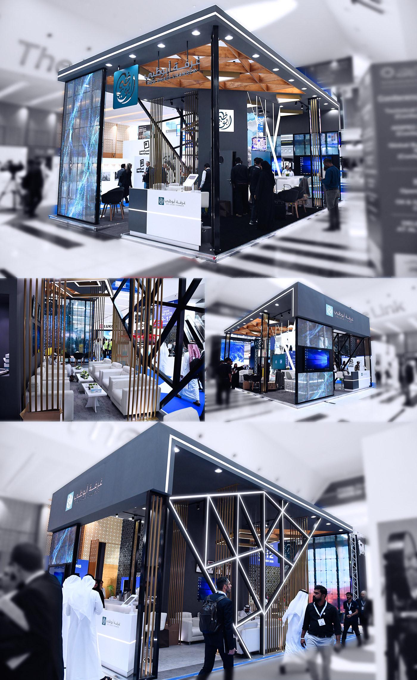 Abu Dhabe chamber exhibitiondesign diegogugelmin brazukaz designs uaeadipec