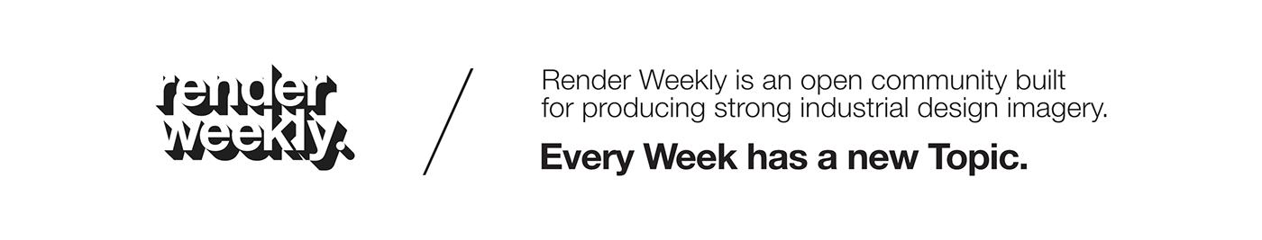 Renderweekly Render rendering keyshot pendantlight light Lamp CGI cmf