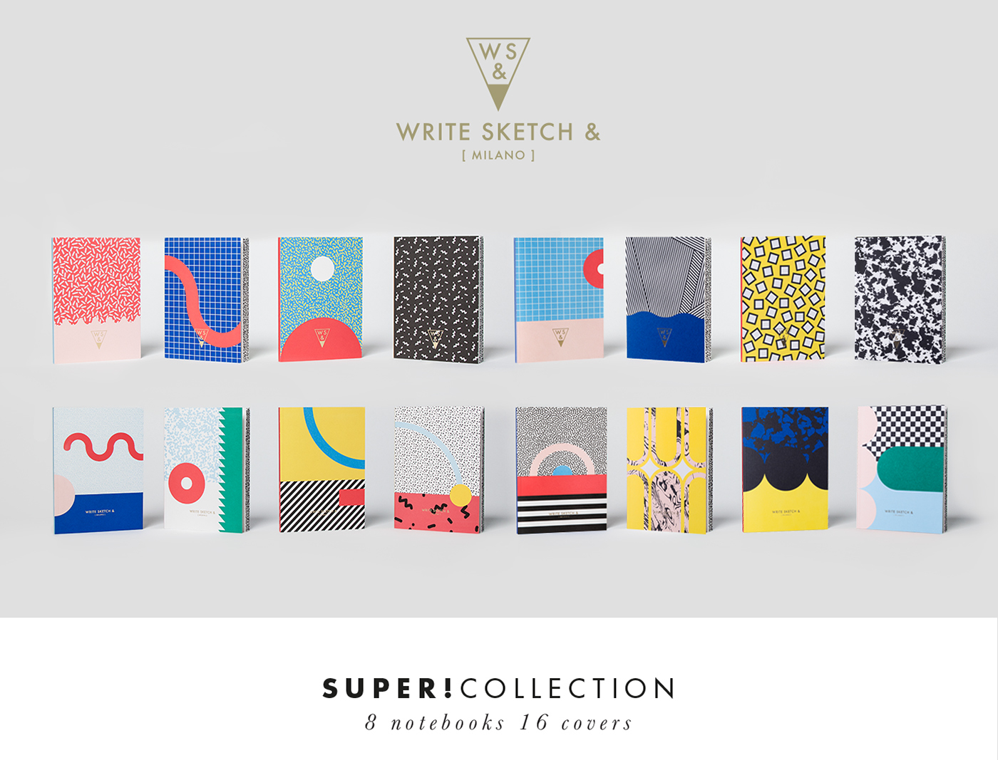 write sketch super collection notebooks on behance