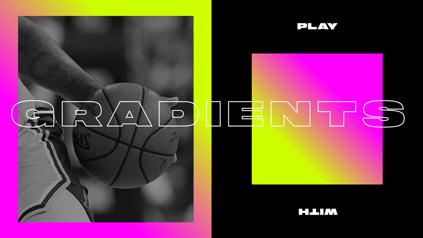 basketball branding  colors jordan motion Nike sport design Streetball Typographie Championship