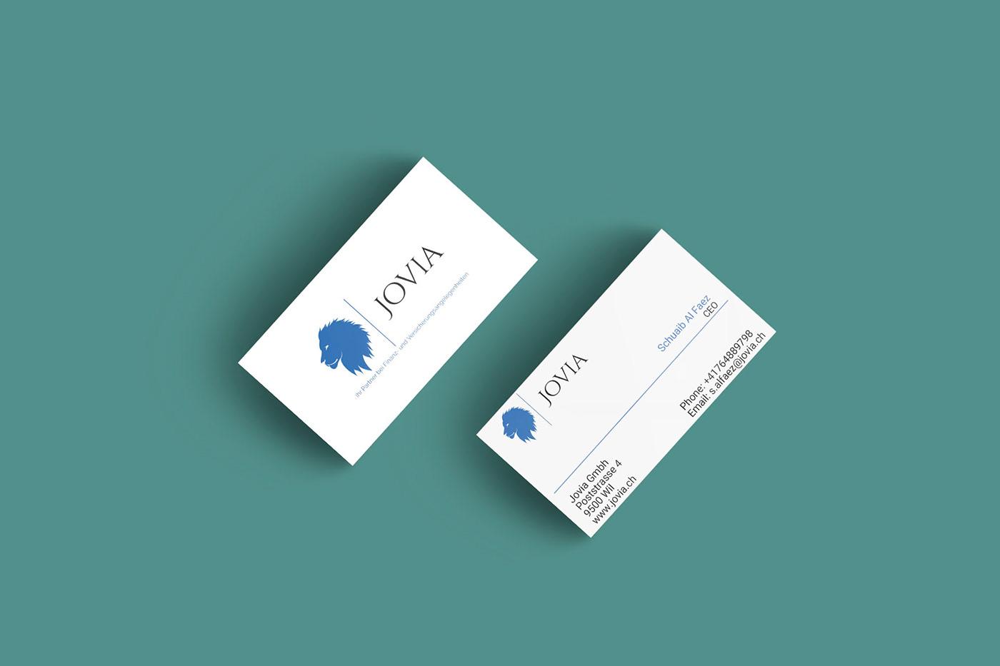 Logo Business Card Design On Behance