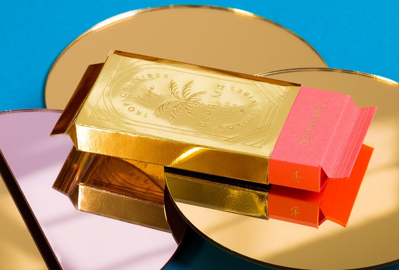 Image may contain: box and gold
