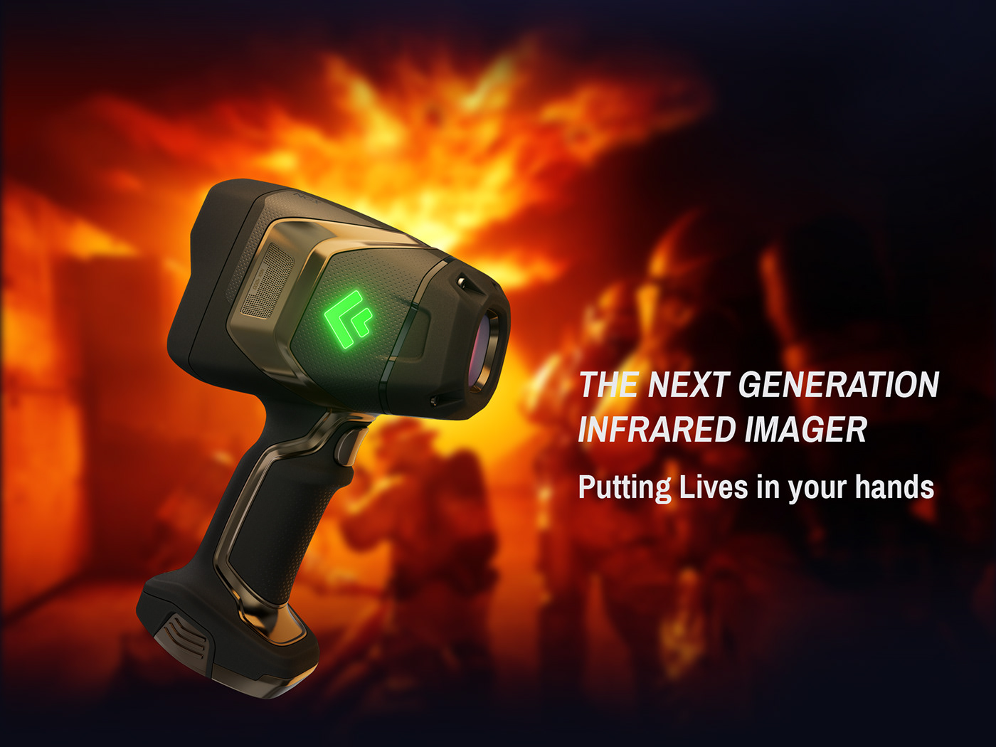 infrared imager Firefighter fire tool IRCamera Firstresponder rugged thermal camera