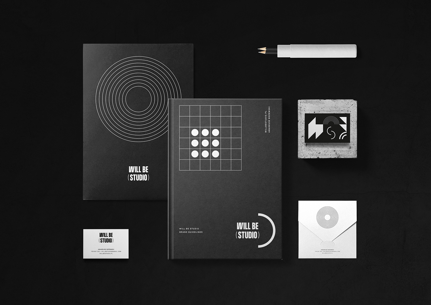 logo visualization Render architecture interior design  furniture poster cover brand guidelines Stationery