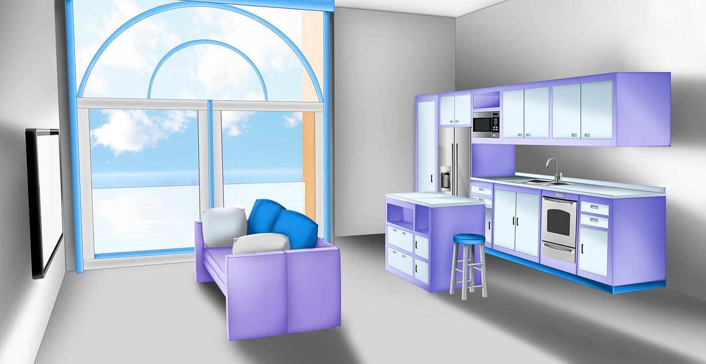高質感的22張房間顏色搭配欣賞