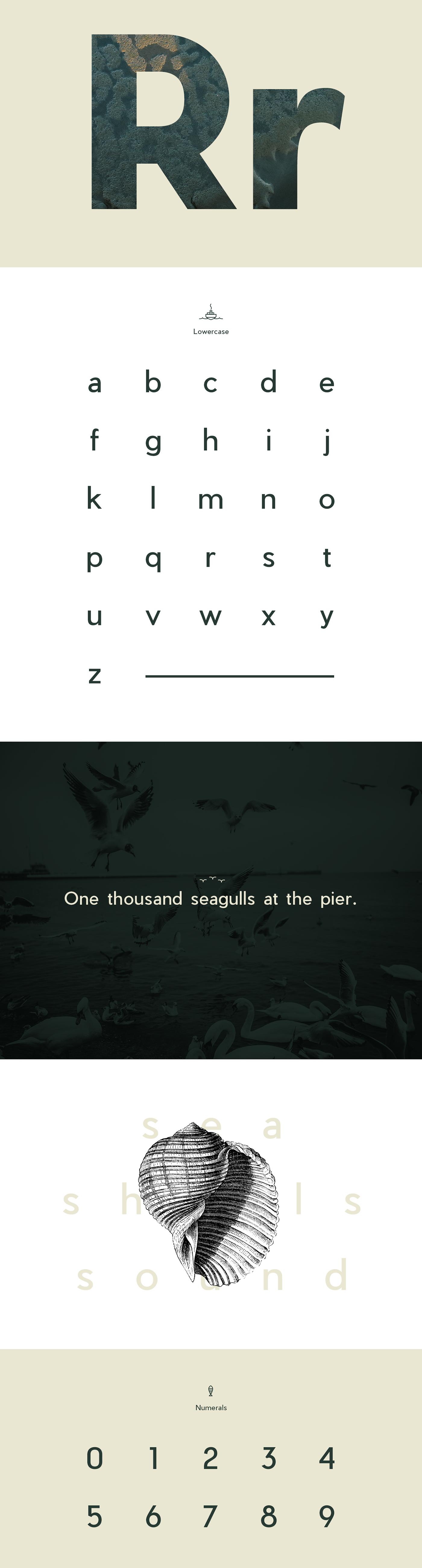 font free type Typeface water pier dock anchor modern