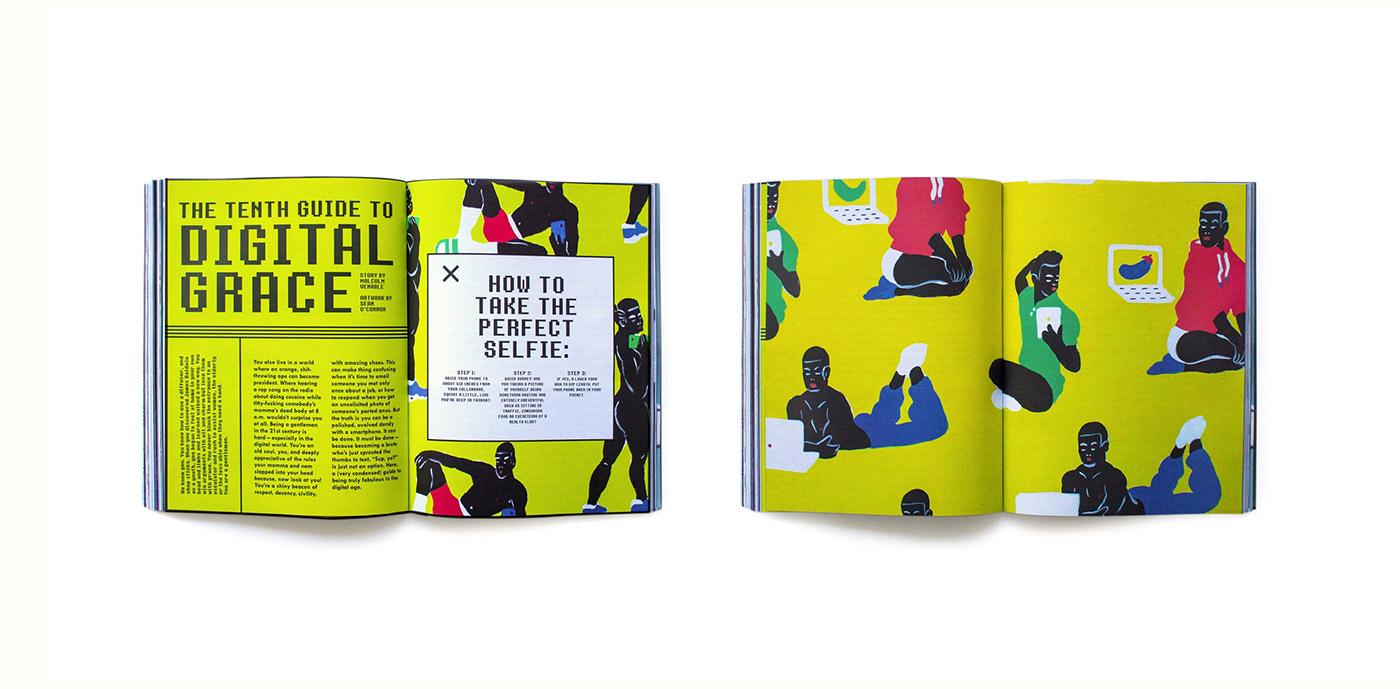magazine,editorial design ,typography  ,print design