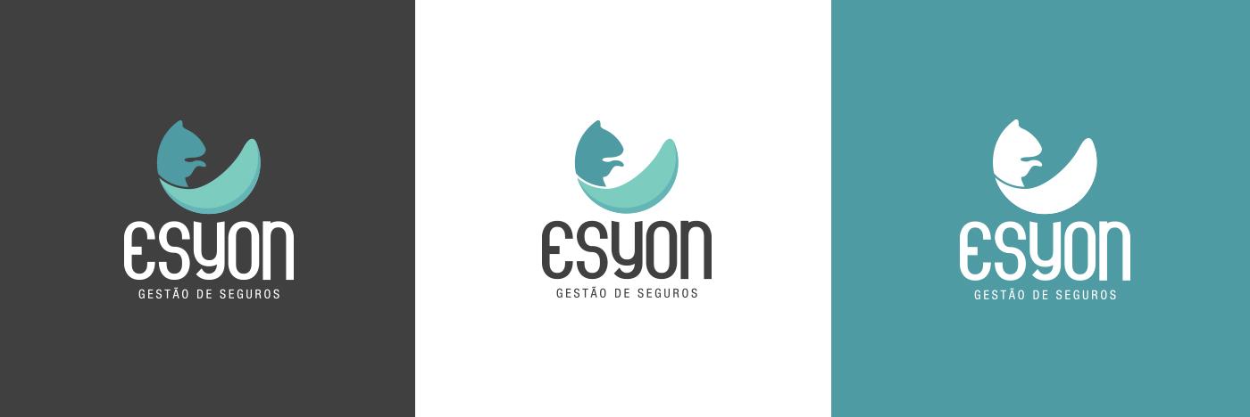 naming esquilo Seguros organização Segurança brand logo